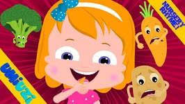 Umi Uzi - Vegetable Song - Kindergarten Nursery Rhymes For Toddlers