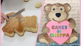 Cute Teddy Bear Cake - (How To)