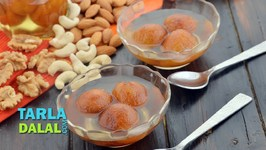 Bread Gulab Jamun - Quick Indian Sweet