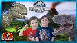 Jurassic World Raptor Adventure with Giant Dinosaurs Toys for Kids - Chase and Cole Adventures