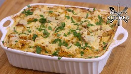 Garlic Bread Potato Bake - Amazing Family Meal