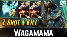 Wagamama Kunkka - ONE SHOT  ONE KILL-  Dota 2