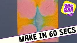 Make In 60 Seconds - Kitchen Roll Art - Mister Maker