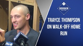 Trayce Thompson On Walk-Off Home Run In Dodgers Win Over Mets