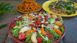 Summer Salads With The Veggie Queen