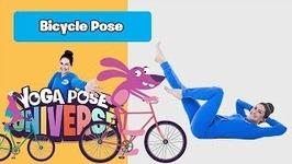 Bicycle Pose -Yoga Pose Universe