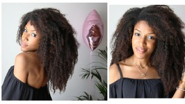 Summer Hairstyles - Cheveux Crépus Longs And Extensions / Get And Style Long Natural Hair