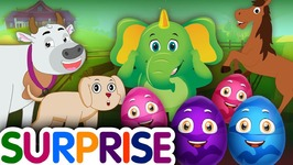 Surprise Eggs Nursery Rhymes Toys - Learn Farm Animals and Animal Sounds With Mr.Harlo