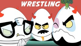 Sumo Wrestling - Deviled Eggz Show - New Cartoon - Childrens Fun