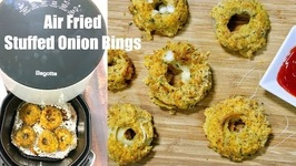 Bagotte Crispy Air Fried Stuffed Onion Rings