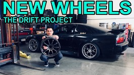 I GOT New Wheels for the Drift Project - 240sx