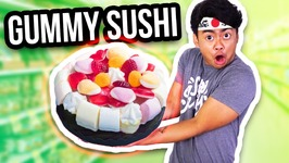 THE WORLD'S BIGGEST GUMMY SUSHI