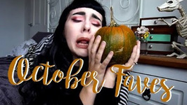 My Month of October And Favourites   Try Ons