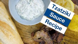 How To Make Tzatziki Greek Garlic Yogurt Sauce