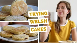 Welsh Cakes Taste Test in Cardiff, Wales