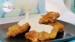 Chicken Fried Steak With White Gravy - Best Beef Schnitzel