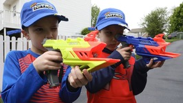 Nerf War - Mail Time Mayhem 52 Nerf Nitro