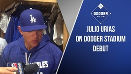 Julio Urias On Dodger Stadium Debut