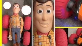 Toy Story 4 - Rc Car Vs Bullseye - Tough N Tumble Remote Control Car