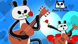 Panda A Panda Cartoon - New Kids Show - Fun Videos For Toddlers - Love Fail