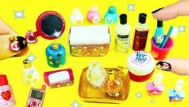 10  DIY Miniature Bathroom Accessories