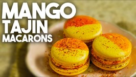 How To Make Mango Tajin Macarons