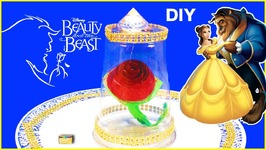 Diy Beauty And The Beast Enchanted Rose Craft For Kids With Surprise
