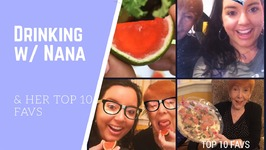 Watermelon Jello Shots / Drinking With Nana And Her Top 10 Favorites