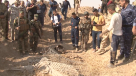 Iraqi Military Discovers Alleged Mass Grave Site in Former Islamic State Stronghold of Hawija