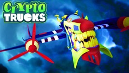 Air Devil Intro - CryptoTruck Cartoon - Truck Cartoons - Crypto Force - Cartoon Shows By JazToonz