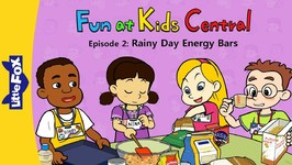 Fun at Kids Central 2 - Rainy Day Energy Bars - School - Animated Stories for Kids