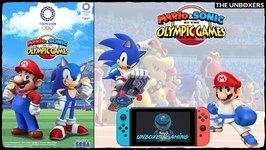 Mario and Sonic at the Olympic Games 2020 Nintendo Switch Gameplay