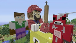 Minecraft Xbox Lets Play - Survival Madness Adventures - Lucky Block 93