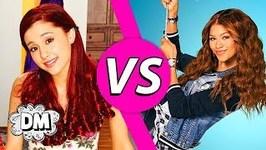 Disney Channel Celebrities vs Nickelodeon Celebrities - Ariana Grande vs Zendaya