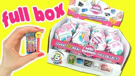 5 Surprise Mini Brands Full Box Opening Video By Toycaboodle