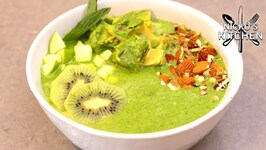 Green Smoothie Bowl - Breakfast Recipe