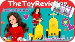 SmartGurlz Siggy Robot Maria Girls Doll Coding Segway Smart Unboxing