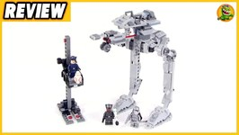 Lego First Order AT-ST Review - Lego Star Wars 75201