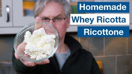 Making Ricotta (Ricottone) From Scratch