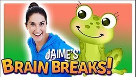 Jaime's Brain Breaks - 10 - Little Green Frog