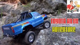 Unbreakable Toyota Hilux Thunder Tiger RC Adventure