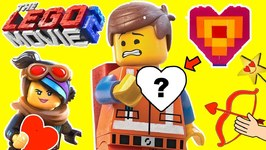 Find Emmet's Lego Heart! THE LEGO MOVIE 2 VALENTINES DAY HEART GAME w/ Surprise Toys