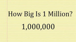 How Big Is One Million