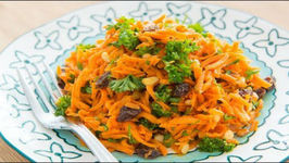 Healthy Spiced Carrot Salad
