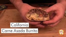 California Carne Asada Burrito - San Diego Classic