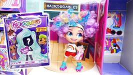 Hairdorables Doll Unboxing And Review Fashionable Big Hair