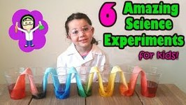6 Amazing Science Experiments For Kids Easy Rainbow Walking Water The Science Kid