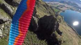 Daring Skydivers Do Full Rotations Through New Zealand Countryside