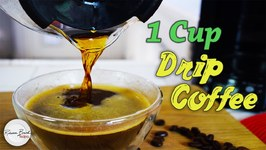 Recipe For One Cup Of Drip Coffee - Exact Measurements And Instructions