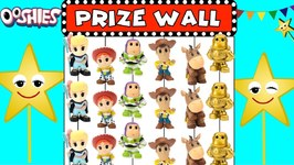 Toy Story 4 Ooshies Carnival PRIZE WALL GAME: Find the Golden Buzz Lightyear!
